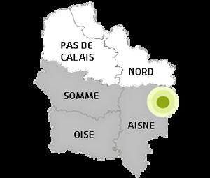 Thiérache en Picardie dans les Hauts de France