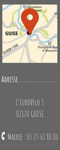 Adresse EuroVélo Guise
