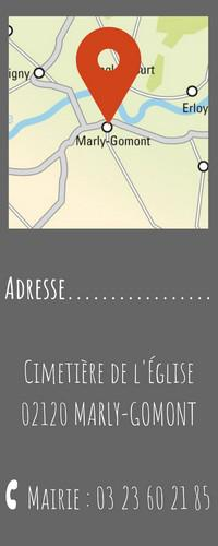 adresse Marly-Gomont