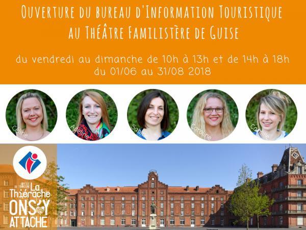 bureau d'information touristique 2018