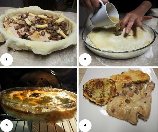 Recette Chicken Pie de Thiérache