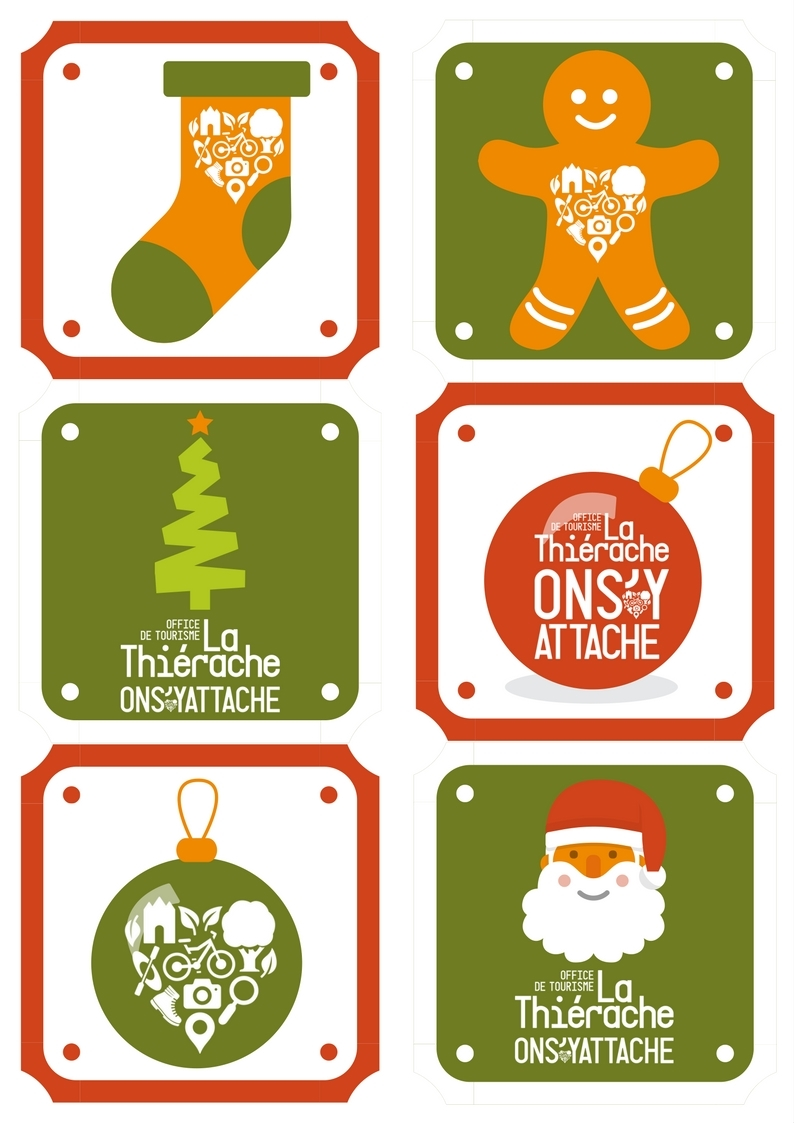 Etiquettes cadeaux