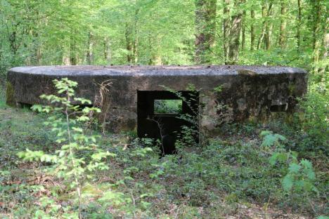 Blockhaus de la forêt de Saint-Michel