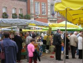 Les marchés en Thiérache
