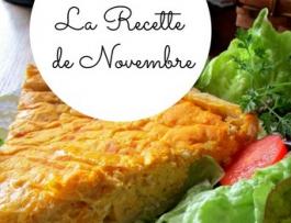 La recette de novembre